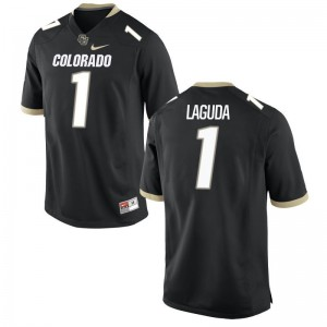 Limited Afolabi Laguda Jerseys S-3XL Colorado Black Men