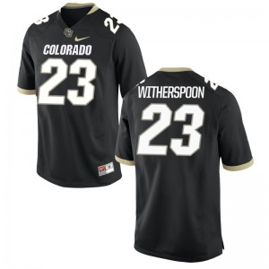 3XL Colorado Buffaloes Ahkello Witherspoon Jersey Stitch For Men Limited Black Jersey