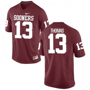 Limited Men Oklahoma Sooners Jersey Men Small Ahmad Thomas - Crimson