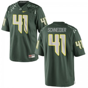 Oregon For Men Green Limited Aidan Schneider Jerseys
