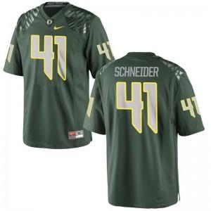 Oregon For Men Green Limited Aidan Schneider Jerseys