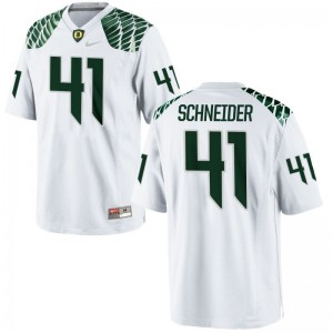 Aidan Schneider Ducks Jerseys Small Mens Limited Jerseys Small - White