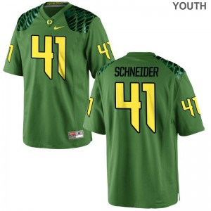 University of Oregon Aidan Schneider Jersey Youth Large Youth(Kids) Limited Apple Green