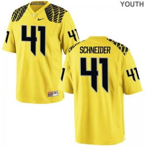 Gold Limited Aidan Schneider Jerseys Youth Medium For Kids UO