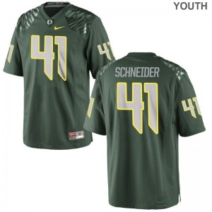 Oregon Limited Aidan Schneider Youth Jerseys Medium - Green
