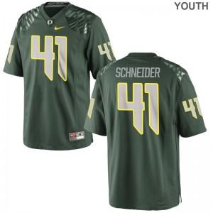 Oregon Limited Aidan Schneider Youth Jerseys Medium - Green