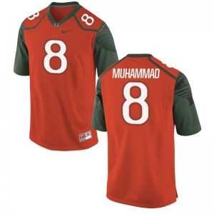 Al-Quadin Muhammad For Men Jersey 2XL Limited Miami - Orange