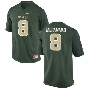 Al-Quadin Muhammad Kids Green Jerseys Youth Medium Hurricanes Limited