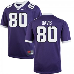 Horned Frogs Purple Limited For Men Al'Dontre Davis Jersey Men Small