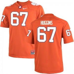 Mens Limited Clemson Jersey Medium of Albert Huggins - Orange