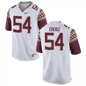 Florida State Alec Eberle Jersey XXX Large White Men Limited