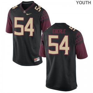 FSU Alec Eberle Jerseys Youth Medium Kids Limited Jerseys Youth Medium - Black