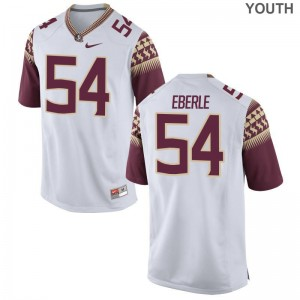 Limited Alec Eberle Jerseys Large Florida State Seminoles Youth(Kids) White