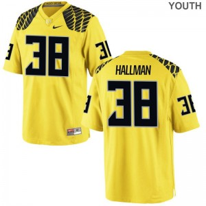 UO For Kids Limited Alec Hallman Jersey Small - Gold