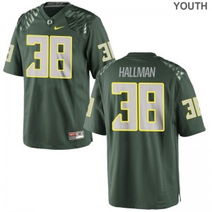 Alec Hallman Jersey XL Oregon For Kids Limited - Green