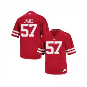 Wisconsin Replica Alec James Mens Jersey XL - Red