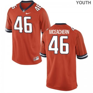 Illinois Alec McEachern Jersey Medium Limited Kids Orange