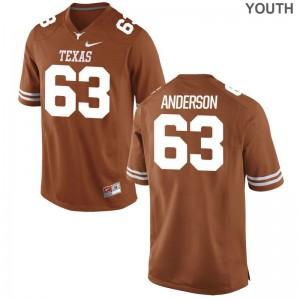 UT Alex Anderson Jerseys Youth X Large Limited For Kids - Orange