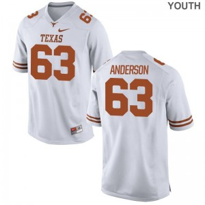 UT Jerseys Medium of Alex Anderson Youth(Kids) Limited - White