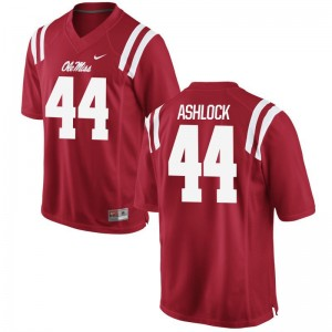 Ole Miss Alex Ashlock Men Limited Red Player Jersey