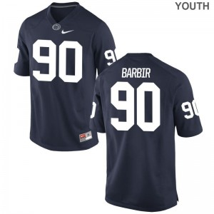 Alex Barbir Penn State Jersey Youth X Large Limited For Kids - Navy