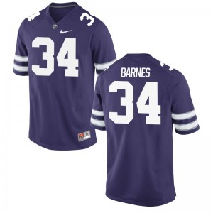 Alex Barnes KSU Jerseys Mens Large Mens Limited Purple