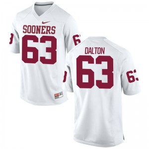 Alex Dalton Sooners Jerseys XXX Large Limited Men White