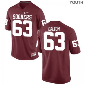 Alex Dalton Jerseys Small Youth(Kids) Oklahoma Sooners Crimson Limited