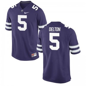 Alex Delton Jersey Men XL For Men Kansas State Purple Limited