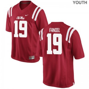 Alex Faniel Limited Jersey Kids Rebels Red Jersey
