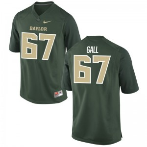 Youth(Kids) Alex Gall Jerseys Youth Medium Miami Hurricanes Green Limited