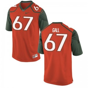 Miami Alex Gall Jerseys Large Limited Youth - Orange