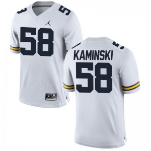 Michigan Wolverines Mens Limited Alex Kaminski Jerseys Medium - Jordan White