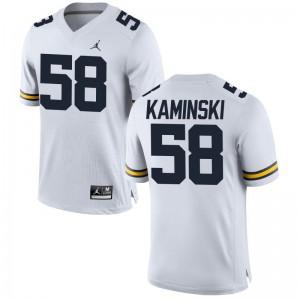 Michigan Wolverines Mens Limited Alex Kaminski Jerseys Medium - Jordan White
