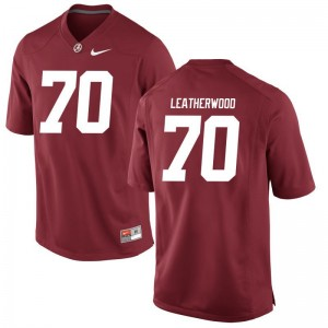 Alex Leatherwood Men Jerseys Alabama Crimson Tide Limited - Red