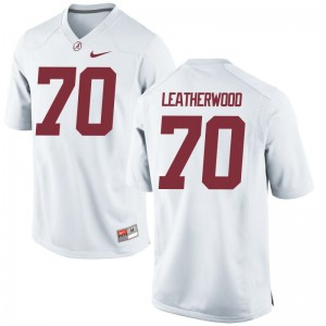 Bama Jerseys XX Large Alex Leatherwood Limited Mens - White