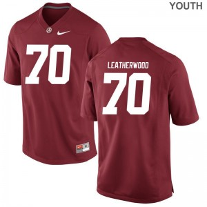 Alex Leatherwood Kids Jerseys X Large Red Bama Limited