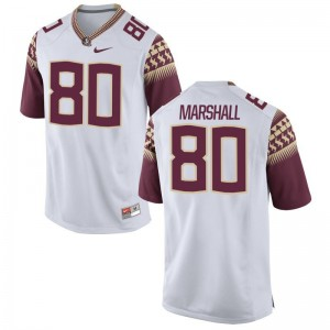 Florida State Alex Marshall Jerseys Mens White Limited
