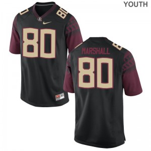 FSU Stitch Alex Marshall Limited Jerseys Black Youth(Kids)