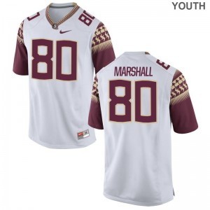 Alex Marshall Limited Jersey Kids Seminoles White Jersey