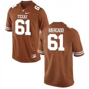 Limited Alex Mercado Jersey Mens Medium Longhorns For Men Orange