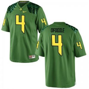 Oregon Alex Ofodile Jerseys Large Limited For Men - Apple Green