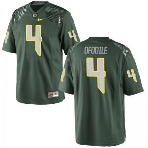 Oregon Alex Ofodile Mens Limited Football Jersey Green