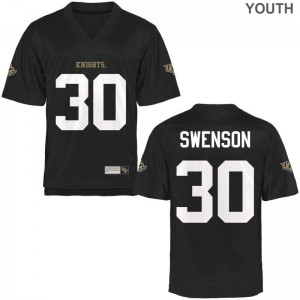 University of Central Florida Alex Swenson Jersey Large Limited Youth Black