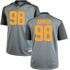 Alexis Johnson Tennessee Jersey S-3XL For Men Limited Jersey S-3XL - Gray