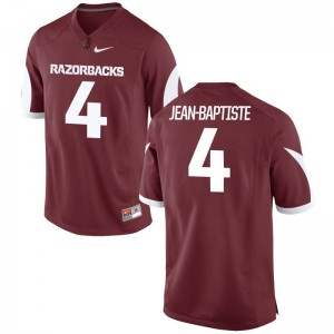 Alexy Jean-Baptiste Razorbacks Jerseys Limited Cardinal Mens