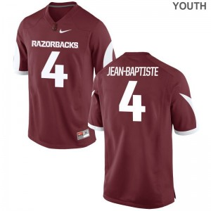 Youth Limited Alumni Arkansas Razorbacks Jersey Alexy Jean-Baptiste Cardinal Jersey