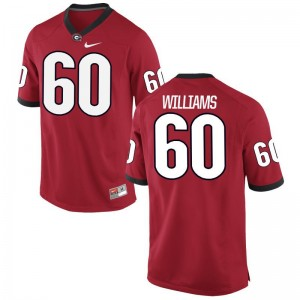University of Georgia Limited Red Men Allen Williams Jerseys XX Large