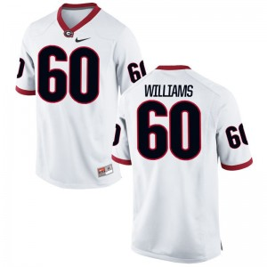 University of Georgia Allen Williams Men Limited Jersey White