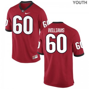Red Limited Allen Williams Jersey Youth XL Youth Georgia Bulldogs